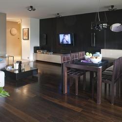 Kolory Scian I Mebli Do Ciemnej Podlogi Jak Dobierac Kolory Do Podlogi House Interior Interior Design Home Decor