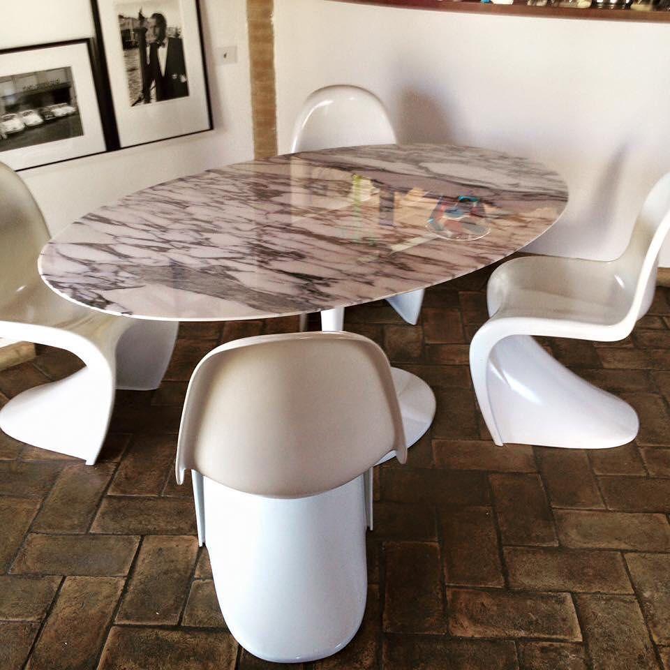 Panton Chair Tavolo Tulip Instantdesign It Arredamento Arredamentomoderno Interiordesign Architetto Bauhaus Interi Coffee Table Interior Design Decor