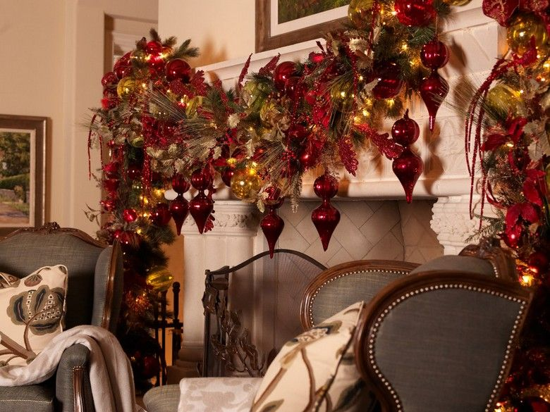 Decorations De Noel A L Americaine Plus De 50 Idees Super A Reproduire Decoration Noel Decoration Et Arbre De Noel D Or