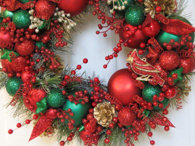 24 Whimsical Handmade Christmas Wreath Ideas Handmade christmas - christmas wreath decorations