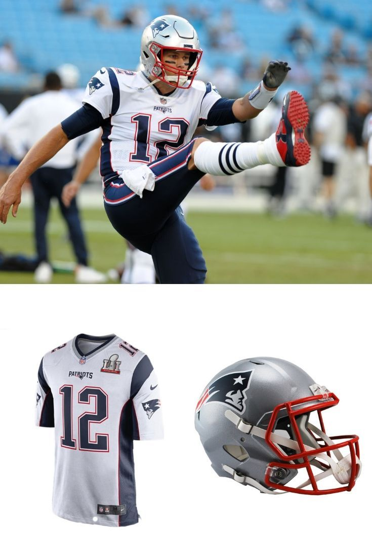 the best attitude 3d223 be68b Check out Tom Brady's official away Nike Patriots Tom Brady ...