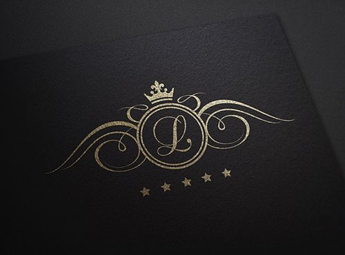 Luxury logo pinteres for Luxury design consultancy