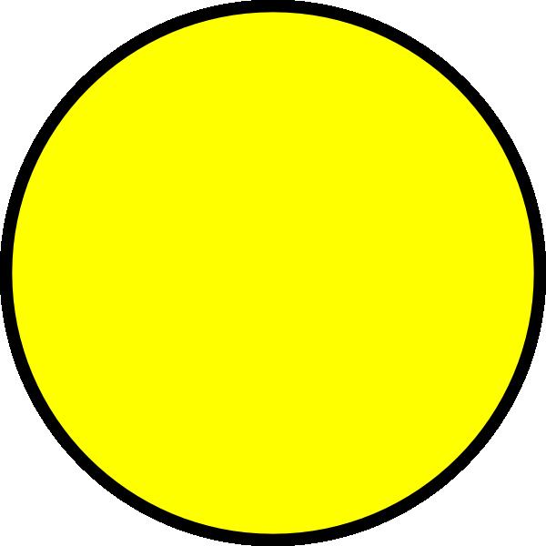 Yellow Circle Clip Art Online Art Circle