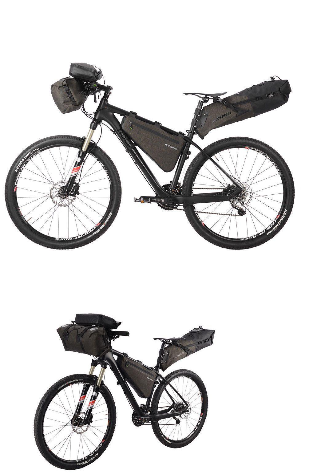 RockBros Bike Cycling Touring Combined Handlebar Frame Saddle Bag ...
