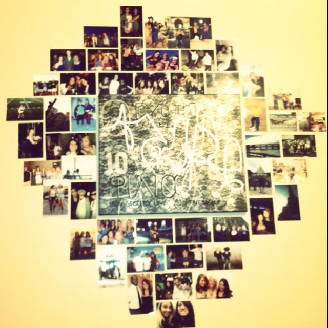 Picture collage - I have one with over 50 pictures on my wall at the ...