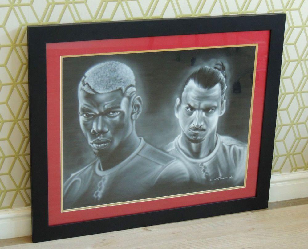 Framed Original Manchester United