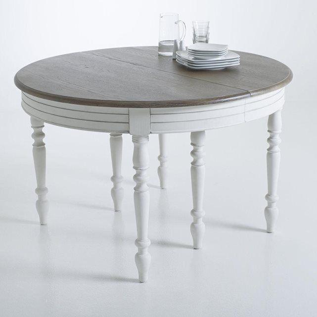 table allonges 4 12 couverts eulali la redoute interieurs salle manger pinterest. Black Bedroom Furniture Sets. Home Design Ideas