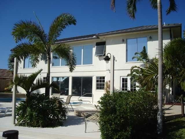 Check out the price reduction on this home at The Cove in Deerfield Beach, Florida. Beautifully updated, spacious home on the water with dock access. Has 5 bedrooms and 4 bathrooms with just under 3,500 square feet of living space.