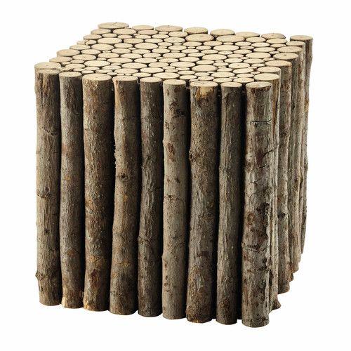 Beistelltisch LOGNAN aus Holz, B 41cm