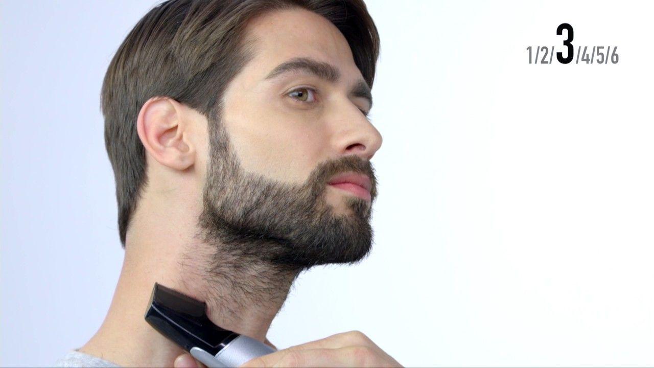 Barba Perfilada Cuello