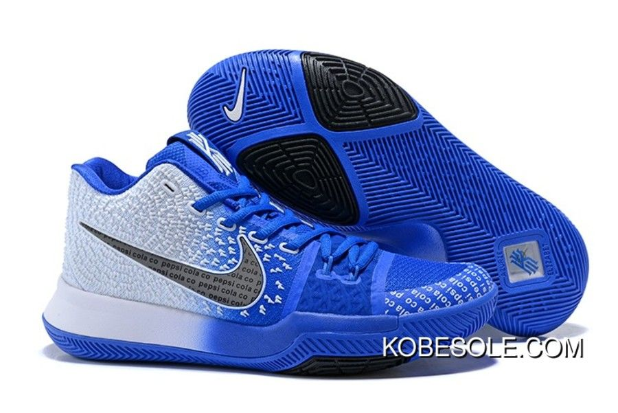 new concept 6b639 b92fc Shop Nike Kyrie 3 Uncle Drew White/Blue-Black New Year Deals ...