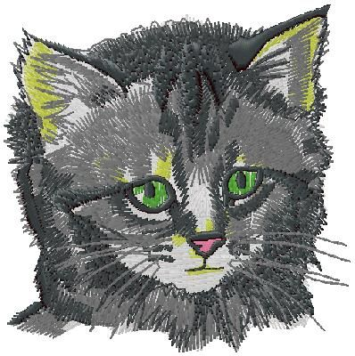 Cat Embroidery Design Machine Embroidery Designs Pinterest