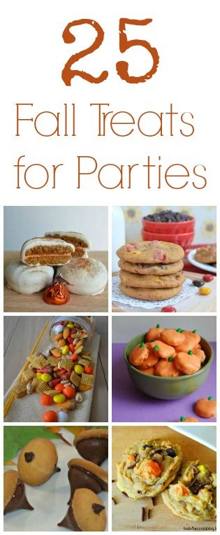 25 Fall Party Treats: Perfect for Class Parties! Pandora's Deals