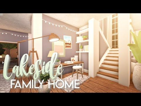 Bloxburg Lakeside Family Home House Build Youtube