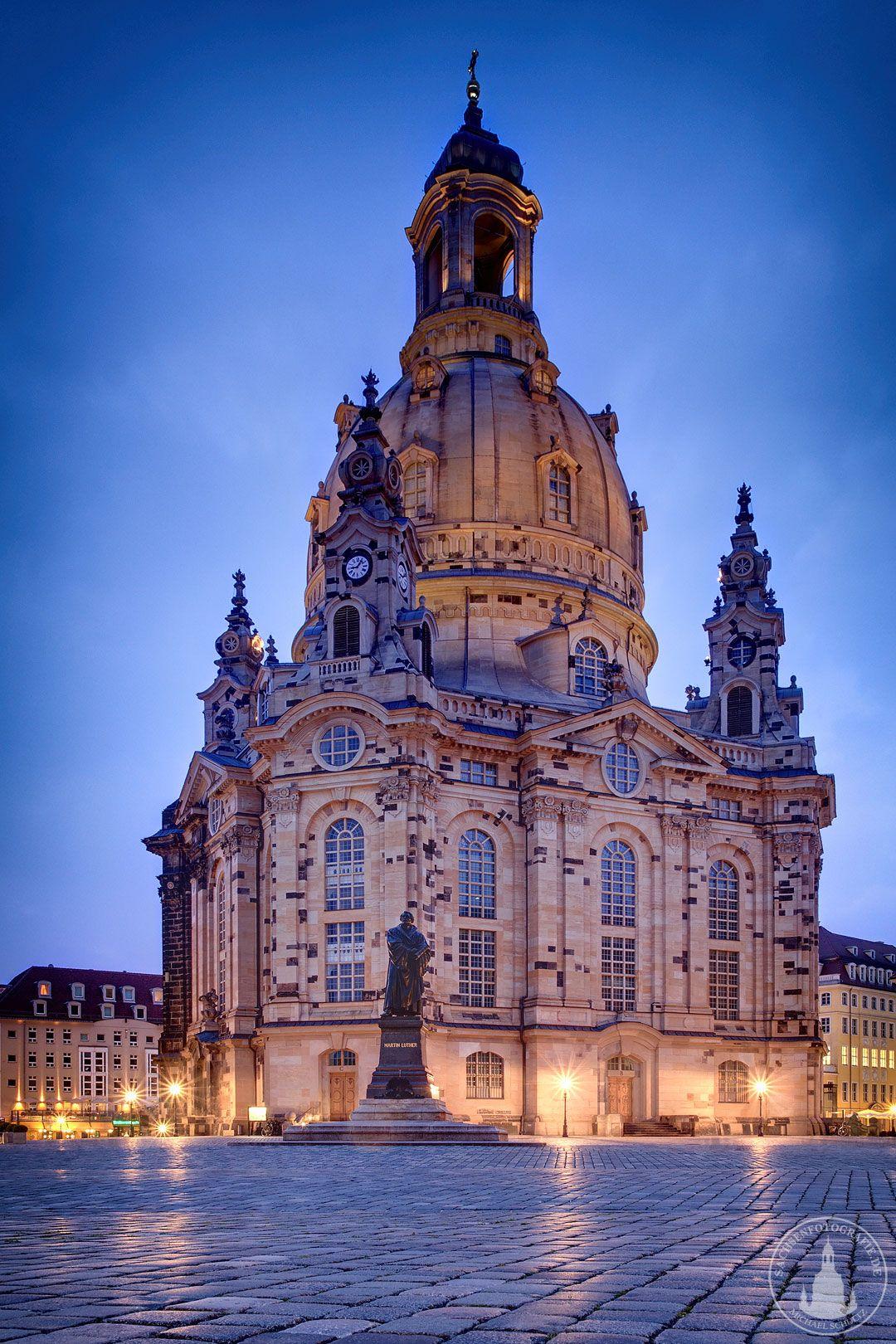 Dresden Dresdner Frauenkirche Reisen Deutschland Frauenkirche