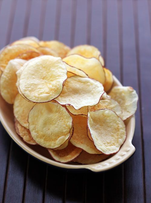 Easy Homemade Microwave Chips Yes