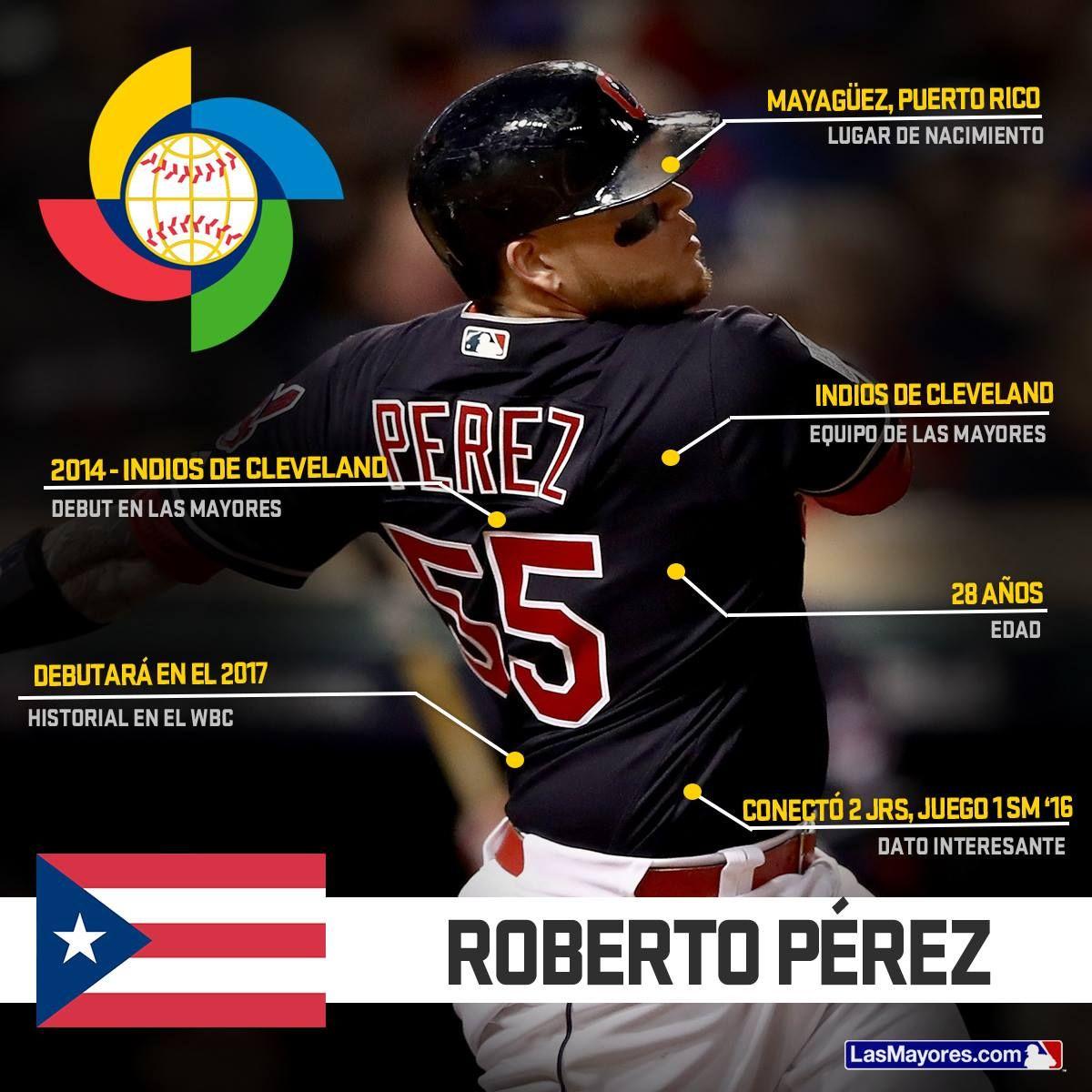 Roberto Perez Puerto Rico World Baseball Classic 2017