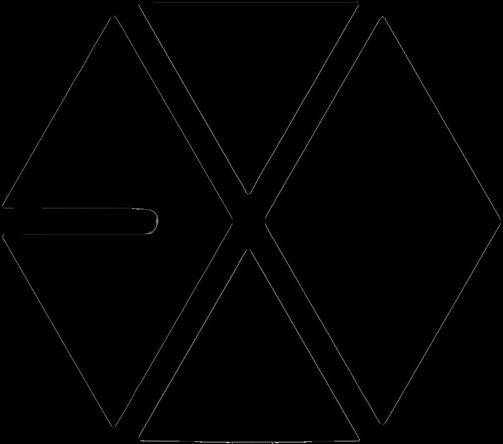Kpop Renders {PNG}Logos; EXO Exo logo, Exo logo