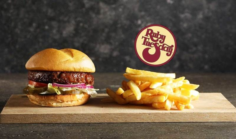 Ruby Tuesday Adds Vegan Awesome Burger to Menu at 450 ...