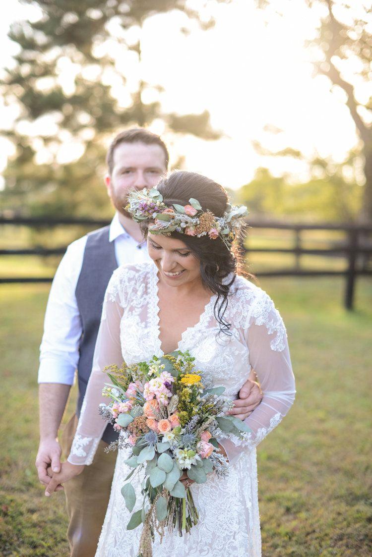 Intimate boho elopement elopements hampton roads and photographers