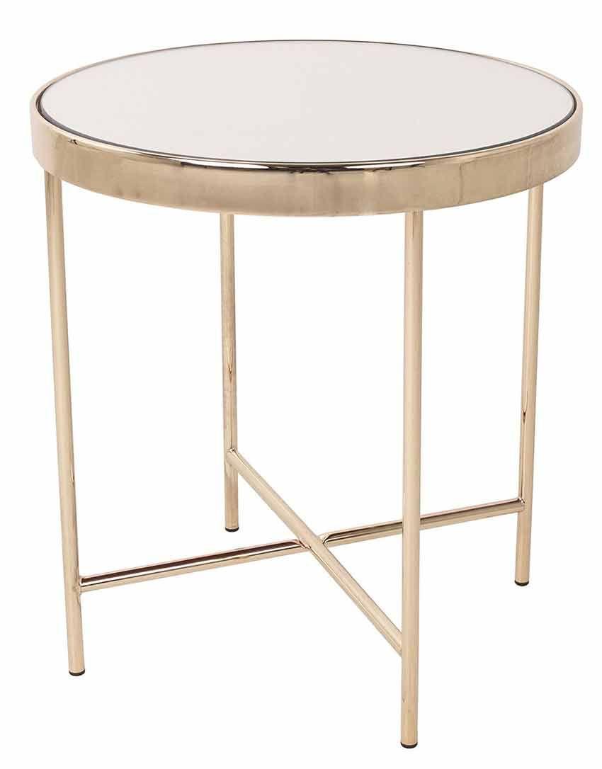 Beistelltisch Gold Ca O 42 50 Cm Beistelltisch Gold Beistelltisch Moderner Tisch