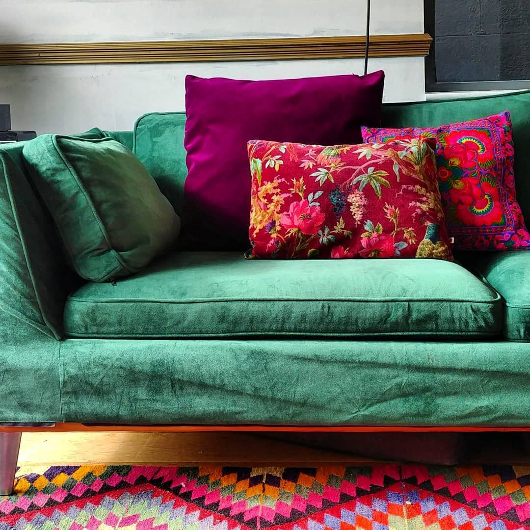 Ikea Stockholm Sofa In Rouge Emerald Sofa Covers By Comfort Works