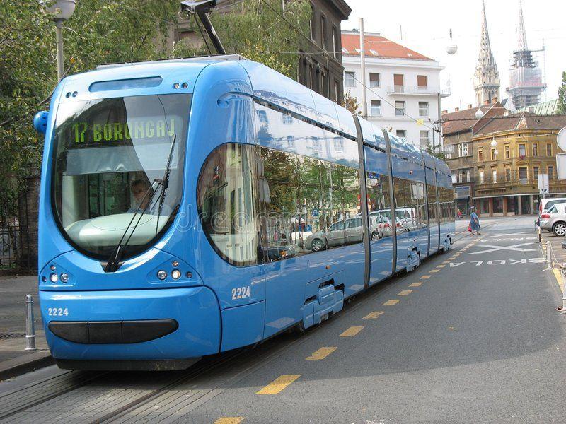 Crotram Electric Trains In Zagreb Sponsored Electric Crotram Zagreb Trains Ad In 2020 With Images Zagreb Train City Design