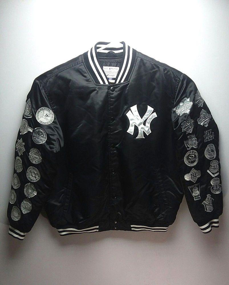 New York Yankees 2000 World Series Satin Jacket Xl Black G Iii Mlb Ebay Link Satin Jackets New York Yankees Fan Apparel [ 1000 x 803 Pixel ]