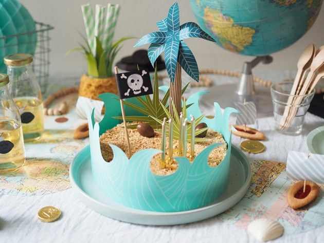 anniversaire birthday gateau de pirate diy pinterest. Black Bedroom Furniture Sets. Home Design Ideas