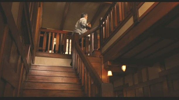 Love the stairs and all the woodwork i cant believe it was all for a movie set