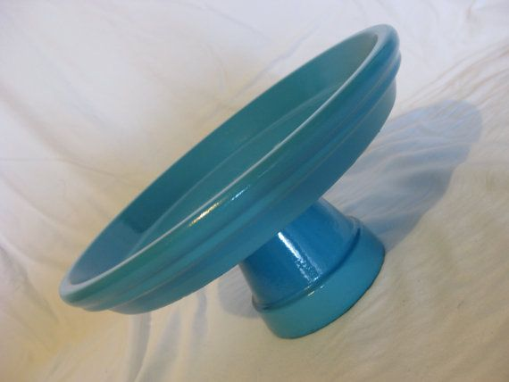 Cake Stand Plate - Painted and Customizable
