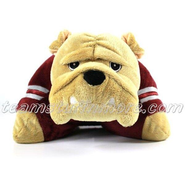 Msu Bulldog Pillow Pet Awesome Animal Pillows Msu Bulldogs