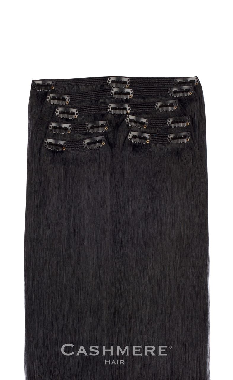 Pure Black Clip In Hair Extensions Great ideas Pinterest Hair