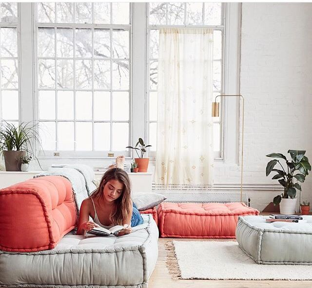 Floor Pillows Home Decoration Ideas In 2019 Reema