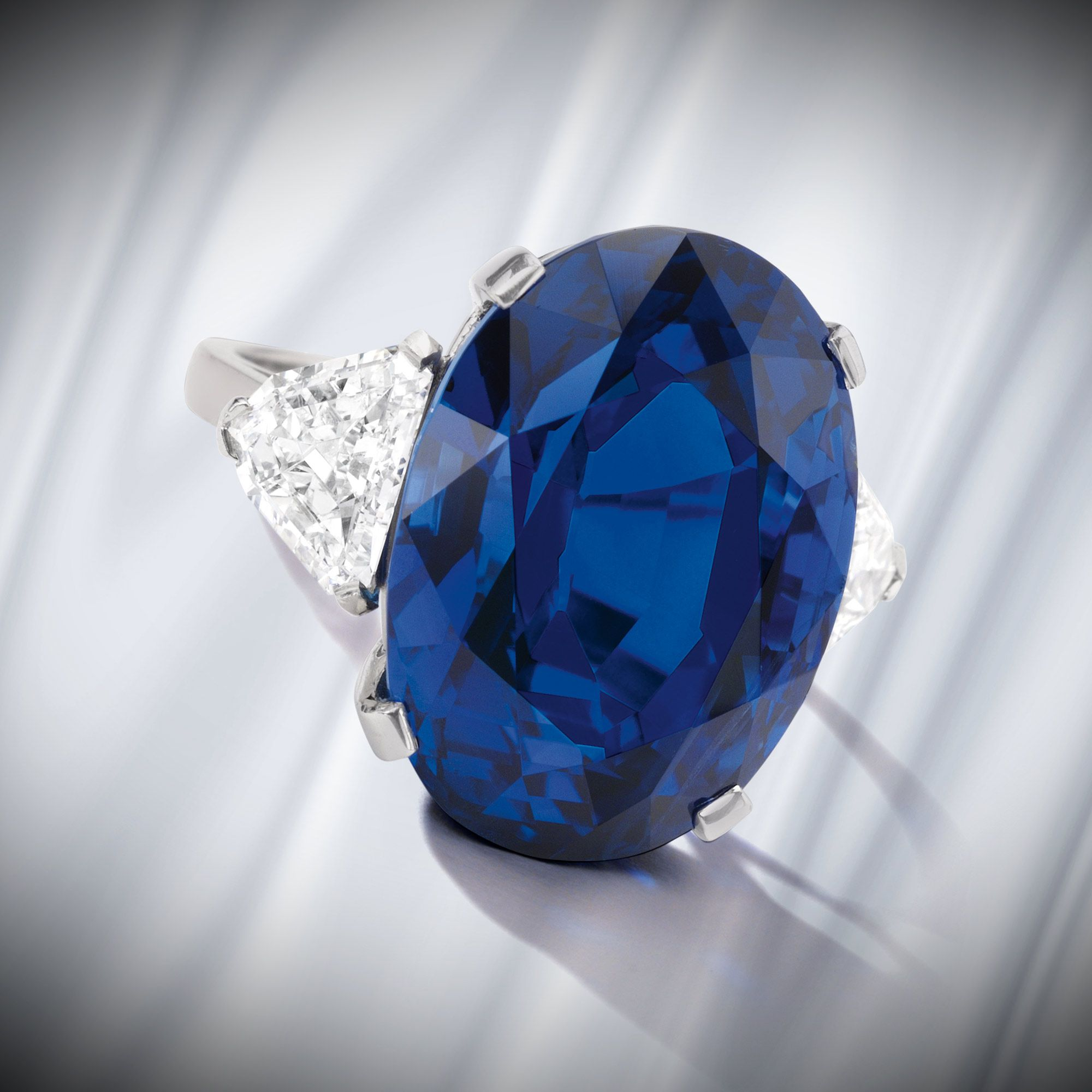 chf pin carat ring stone sapphire kashmir cushion estimate cut
