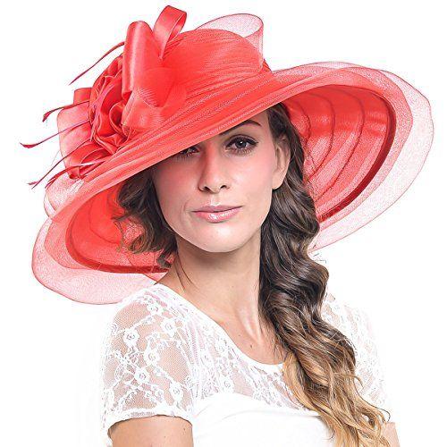 FORBUSITE Women 6 Inch Super Wide Brim Derby Dress Hat S0... https://www.amazon.com/dp/B01F8RQZSK/ref=cm_sw_r_pi_dp_x_myeYyb0BT4KPD