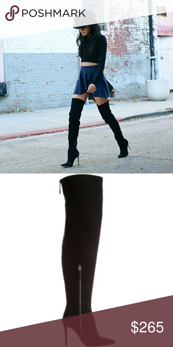 39f2a45b17d Tony Bianco Tobi thigh high boots 100% suede thigh high boots. 62cm shaft,  10.5cm stilletto heel. NO LOWBALLS! High quality. Size 9, Euro 40.