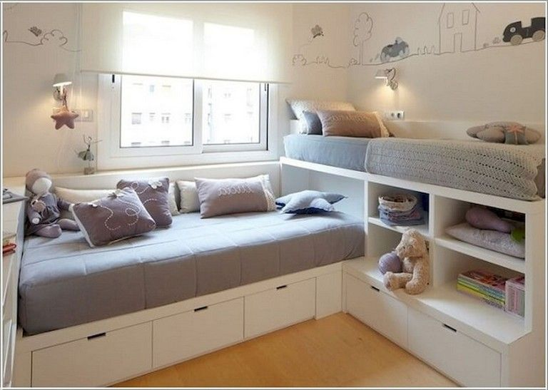 60 Elegant Bed Storage Ideas For Small Spaces Cozy Bedroom Design Small Space Bedroom Small Room Design