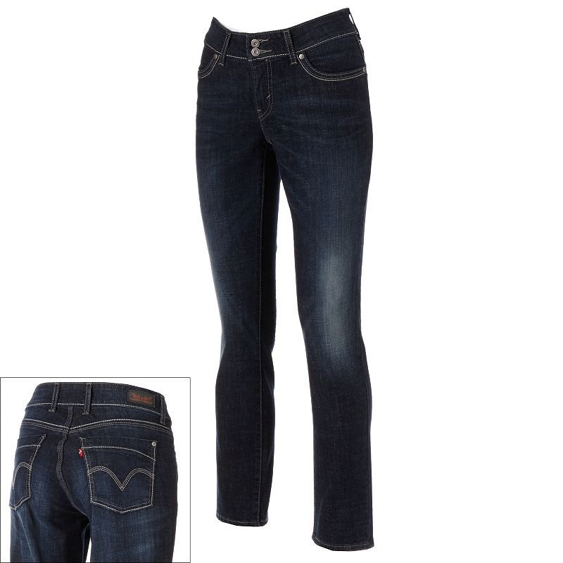 Levi's 529 Curvy Styled Skinny Jeans GLACIER(DARK BLUE), 4- $54.00  #coupay #Women's #fashion