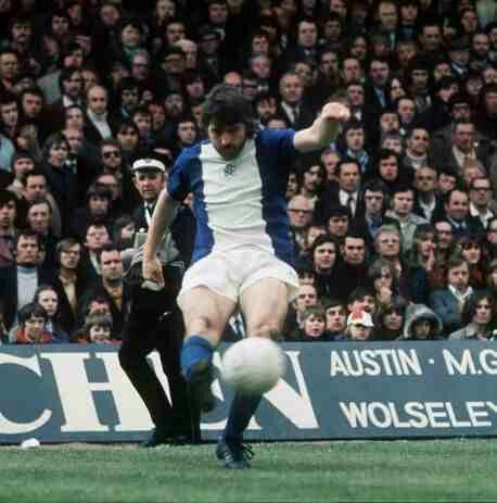 Bob Latchford of Birmingham City in 1973.