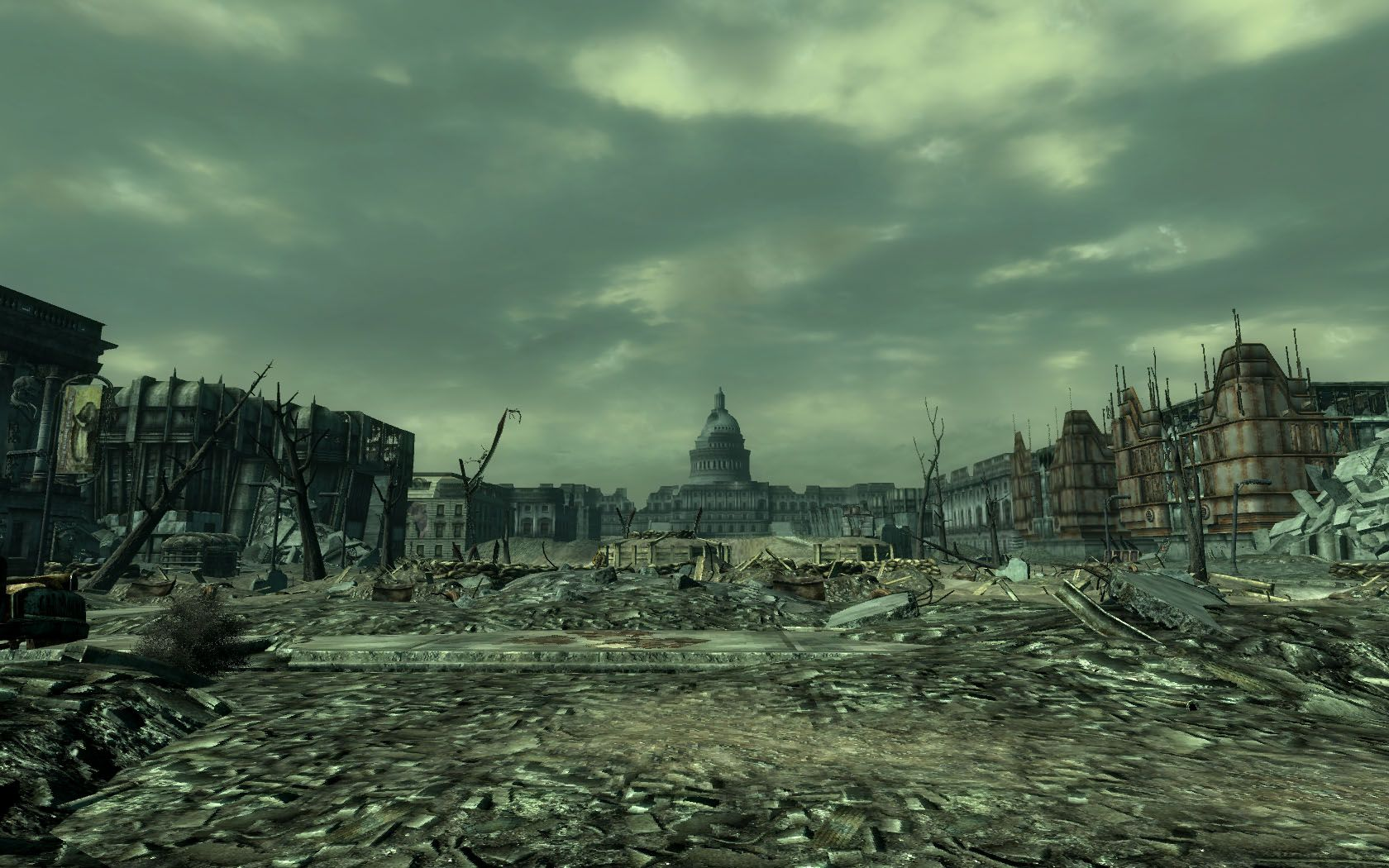 Watch more like Dc Wasteland Fallout 3 Ciudad futurista