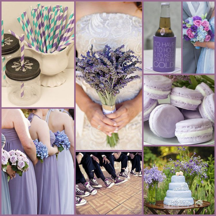 Pastel Colors For Your Wedding Lavendar Cornflower Blue And Teal