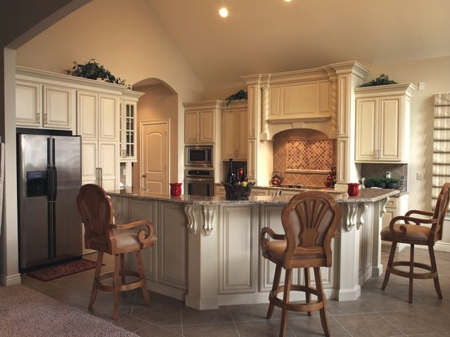 Painted Cabinets From Show Me Cabinets, Columbia