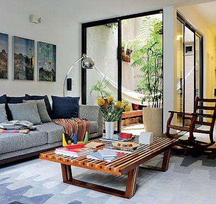 rede na sala eu gosto e voc interiores casas. Black Bedroom Furniture Sets. Home Design Ideas