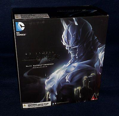 """DC Comics Variant No. 14 BATMAN ARMORED Play Arts Kai 10"""" Figure Square Enix"""