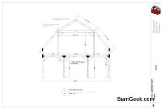 30x30 Gambrel Barn Plans Barn Plans Gambrel Barn Gambrel