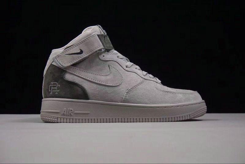 Nike AF1 Young Big Boys X Reigning Champ 3M White Grey 807618 200 ... 8b35e5baf