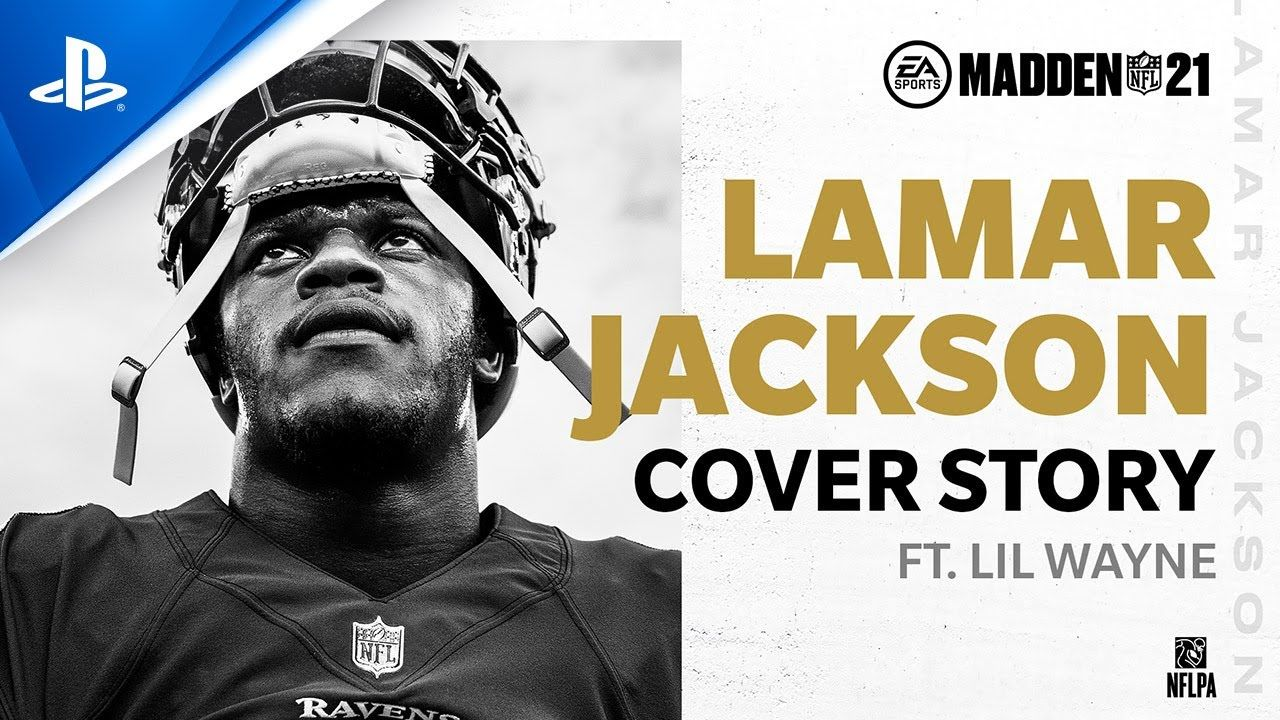 Madden 21 - Lamar Jackson Cover Story ft. Lil Wayne | PS4 - YouTube