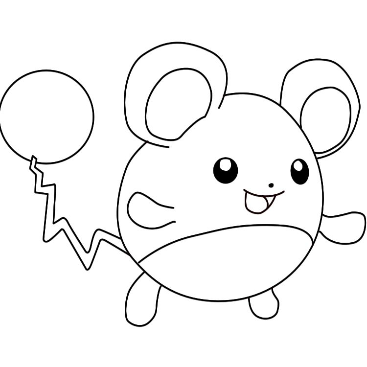 How To Draw Marill Draw Central Pokemon Coloring Pages Cute Drawings Pokemon Coloring