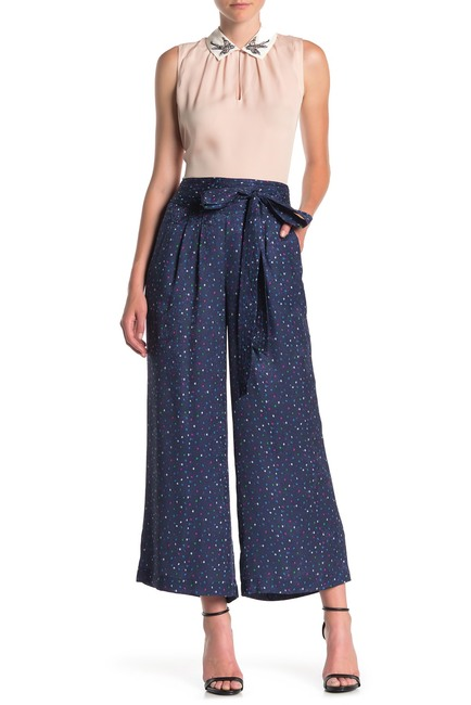 Rebecca Taylor | Speckle Polka Dot Silk Pants #nordstromrack